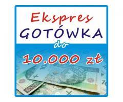Ekspres GOTÓWKA do 10.000 zł =>